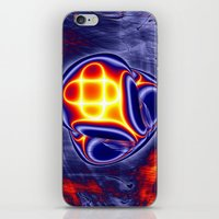 ufo iPhone & iPod Skins featuring ufo by donphil
