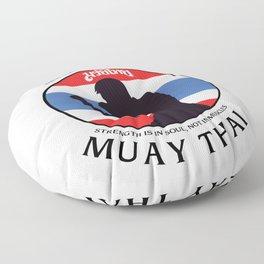Mixed Martial Arts Muay Thai Floor Pillow