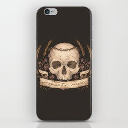 Memento Mori iPhone Skin