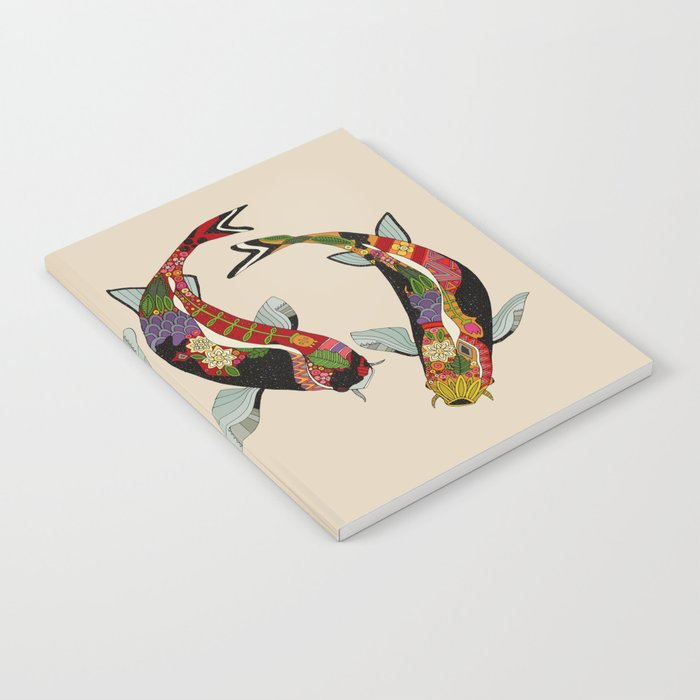 koi chamomile Notebook