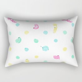 Sloth Dot Rectangular Pillow