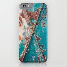 Teal and Rust Slim Case iPhone 6s