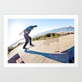 Jake Eames- Backside Tailslide Art Print