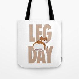 Leg Day Doggie Tote Bag