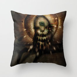 The Introspective Throw Pillow