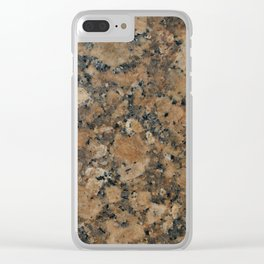 Stone Texture Surface 29 Clear iPhone Case