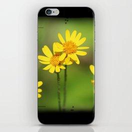 Yellow Flower Dream iPhone Skin
