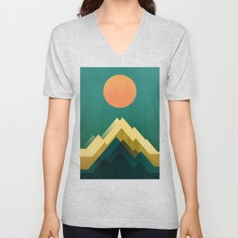 Gold Peak Unisex V-Neck