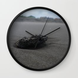 Beach Stone Wall Clock