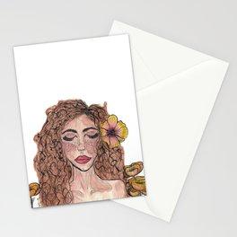 The Layla Portrait Stationery Cards