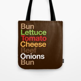 Burgervetica Tote Bag