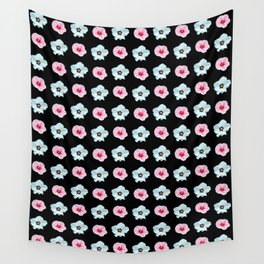Sepia and pink flowers -bloom,blossom,petal,floral,leaves,flor,garden,nature,plant. Wall Tapestry