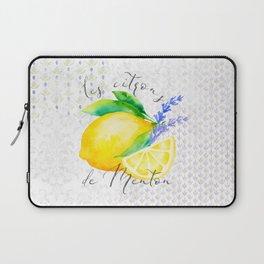 Les Citrons de Menton—Lemons and Lavender, Provence Laptop Sleeve