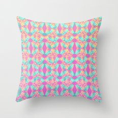 Cutout Manipulation Version IV Throw Pillow