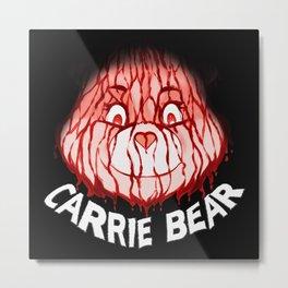Carrie Bear Metal Print
