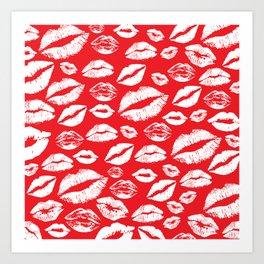 Lips 14 Art Print