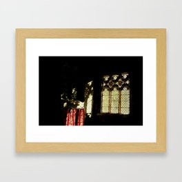 Study Window Framed Art Print
