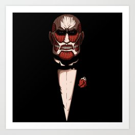 Colossal godfather Art Print