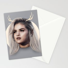 Simple deer Stationery Cards