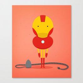 Ironman: My ironing Hero! Canvas Print