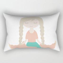 Even the Mermaid loves Donut Rectangular Pillow