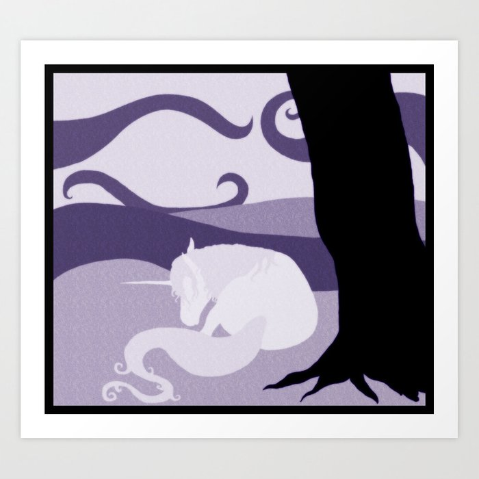 Dream Unicorn Art Print