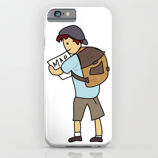Backpacker iPhone & iPod Case