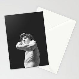 David minimalist Stationery Cards