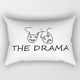 The Drama Rectangular Pillow