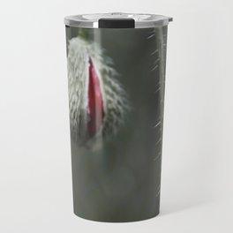 Botanical Still-Life Photography Poppy Unveiled Travel Mug