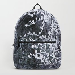 Snowy Tree Branches Winter Scene #decor #society6 #buyart Backpack