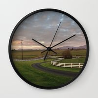 bow Wall Clocks featuring Bow by Radriguez
