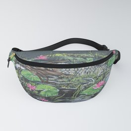Mermaid,lilypads Fanny Pack