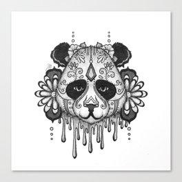 Blacksilver Panda Spirit Canvas Print