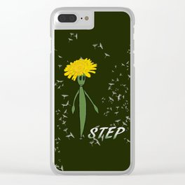 Dandeliono Character poster (STEP) Clear iPhone Case