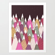 Woodland Warmth Art Print