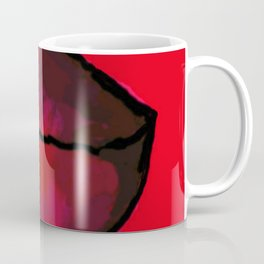 Pink Lips pop art Coffee Mug