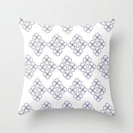 Hexagonal Patterns 1 Throw Pillow