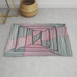 Rectangle Illusion Rug