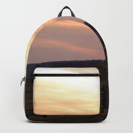 Wisconsin Fall Sunset Backpack