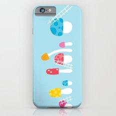 Mushroom Maintenance Blue iPhone 6s Slim Case