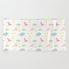 Dinosaur Pattern Beach Towel