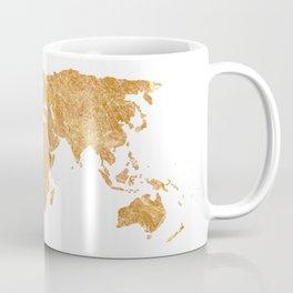 Gold World Coffee Mug