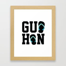Guahan Zories Framed Art Print