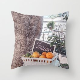 Frappe Throw Pillow