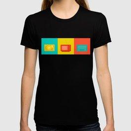record, television, radio T-shirt