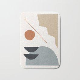 Abstract Minimal Shapes 29 Bath Mat