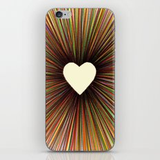 heart radiant color iPhone & iPod Skin