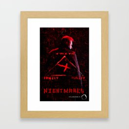 Nightmares movie  poster Framed Art Print
