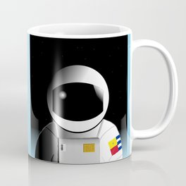 We're floating out in space... Coffee Mug